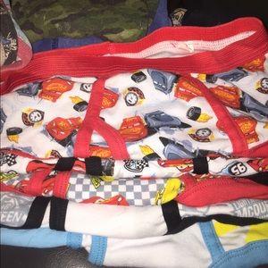 (26 Pairs) 5 NEW Disney CARS underwear Boys 8